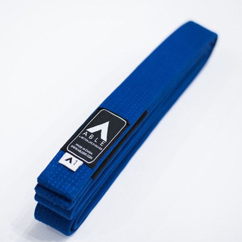 애이블 주짓수 벨트 - A.B.L.E JIU JITSU BASIC BELT BLUE