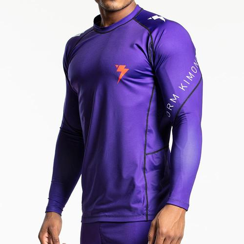 스톰 래쉬가드 -Storm 'Mi5' Long Sleeve Rash Guard - Purple