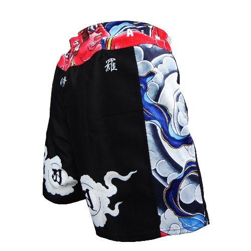 불테리어 파이트쇼츠 - BULLTERRIER Fight Shorts ASHURA Black
