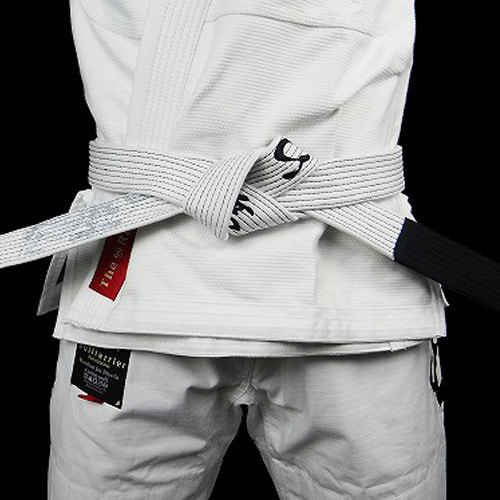 주짓수 벨트 - BULLTERRIER Jiu Jitsu Belt Mushin White