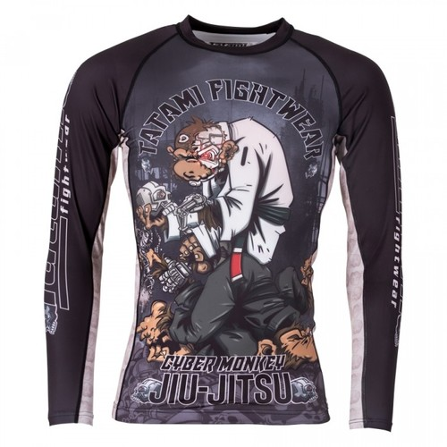 타타미 래쉬가드 - Cyber Thinker Monkey Rash Guard