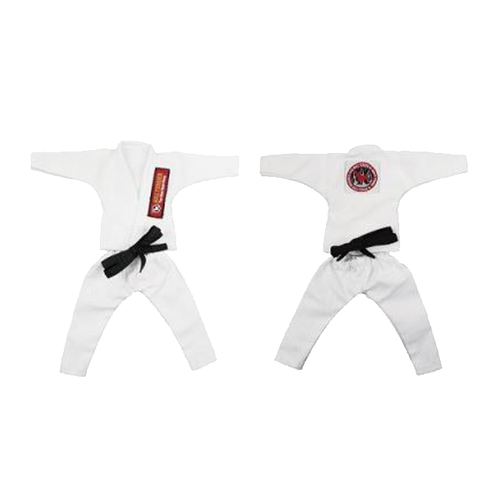 불테리어 용품 - BULL TERRIER Jiu-jitsu gis for 12 inch figures_White