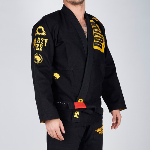 "만토 주짓수 도복 - MANTO ""RAT"" Adult BJJ GI - BLACK"