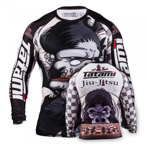 타타미 래쉬가드 - CHESS GORILLA RASH GUARD