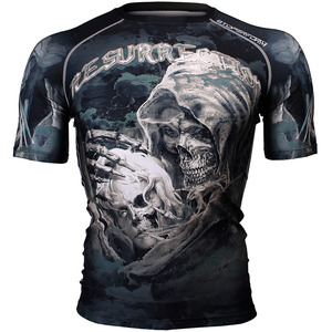 RESURRECTION [FX-309] Full graphic compression short sleeve shirt