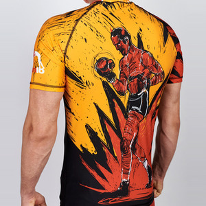 만토 래쉬가드 - MANTO short sleeve rashguard DEVIL