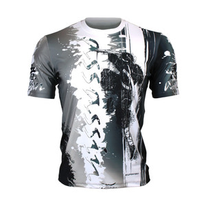 ASSASSIN [FR-350] Full graphic loose-fit Crew neck T-shirt