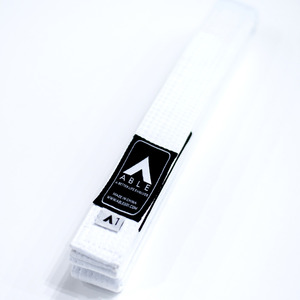 애이블 주짓수 벨트 - A.B.L.E JIU JITSU BASIC BELT WHITE