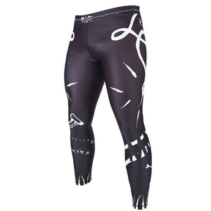 만토 파이트쇼츠 - MANTO grappling tights VOODOO 2.0 black