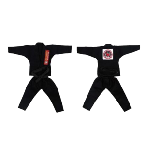 불테리어 용품 - BULL TERRIER Jiu-jitsu gis for 12 inch figures_Black