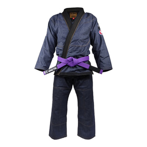 불테리어 주짓수 도복 - BULLTERRIER Jiu Jitsu Gi DENIM GI Ver.2  ALL DENIM