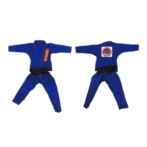 불테리어 용품 - BULL TERRIER Jiu-jitsu gis for 12 inch figures_Blue