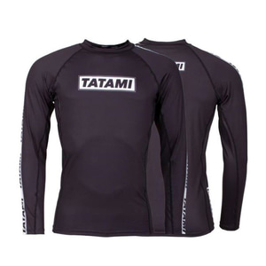 타타미 래쉬가드 - Dweller Long Sleeve Rash Guard Black