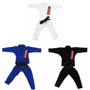 불테리어 주짓수 용품 - BULL TERRIER Jiu-jitsu gis for 12 inch figures