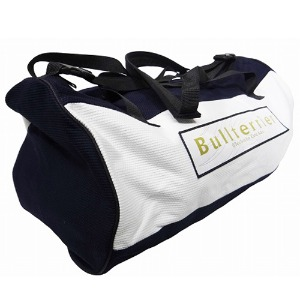 불테리어 주짓수 가방 - BULLTERRIER Duffle Bag Navy/White