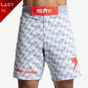 스톰 파이트쇼츠 - Storm 'Standard Issue' Board Shorts - Light Grey/White